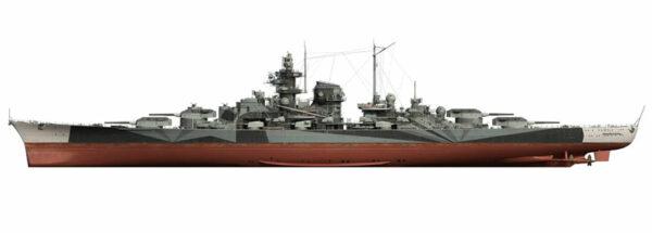 Tirpitz_profilo