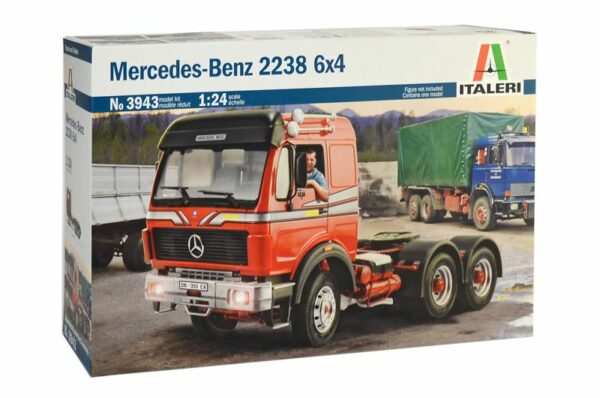 MERCEDES- BENZ 2238 6X4